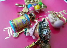 Juicy Couture charm  Lot:  Easter Egg Carton, Bubble, Boxing Glove and more