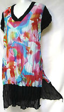 plus sz M - L (20) TS TAKING SHAPE 'Kaleidoscope Tunic' colourful Top NWT! $130