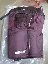 New With Tags! BAUER Nike Dri Fit Men's Sr Maroon Hockey Pants - Size XL