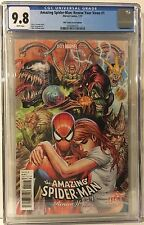 AMAZING SPIDERMAN: RENEW YOUR VOWS 1 CGC 9.8 (2017) KIRKHAM UNMASKED VARIANT.