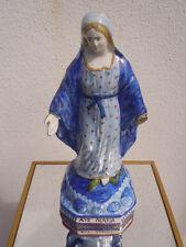 Vierge en faïence de Quimper Ave Maria HR Quimper 19ème