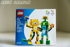 Lego set 40225 Rio 2016 Mascots, Tom and Vinicius, Limited Olympic Brazil