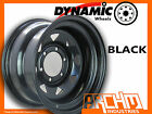 ONE BLACK 4X4 DYNAMIC SUNRAYSIA WHEELS WHEELS 16X8 6/139.7 4WD RIM PATROL HILUX