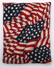 Flag Fabric Quilted Hot/Cold Pack with Corn-Microwave/Freezer-Pizazz Creations
