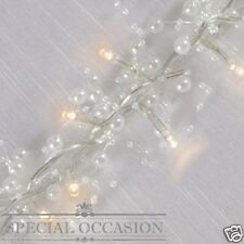 New Special Occasion 30 Pearl White LED Decorative String Fairy Lights