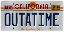 OUTATIME  Back To The Future Movie 80's Vintage looking   sticker  travel decal