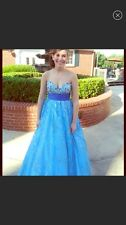 Jovani Blue Prom Dress Size 0