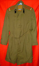 Russian Soviet Army Tank Troops Colonel Uniform Long Coat Size 52-4 M USSR