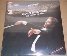 Barenboim MOZART Symphony No.41, Eine Kleine Nachtmusik - Angel DS-38116 SEALED