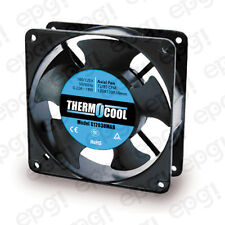 FAN AXIAL THERMOCOOL (120x120x38mm) 72/85 CFM BALL 110V 60Hz  #G12038MAB
