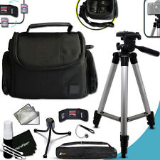 Premium Well Padded CASE and 60 in Tripod KIT f/ FUJI FinePix HS30EX3