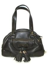 Genuine CELINE vintage black hassle handbag Porte epaule grand nero bag handbag