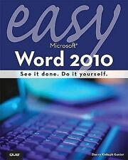 Easy Microsoft Word 2010-ExLibrary