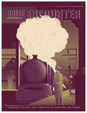 BRIEF ENCOUNTER DAVID LEAN MOVIE POSTER LIMITED EDITION SCREEN PRINT POSTER RAIL