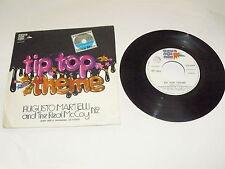 """AUGUSTO MARTELLI """"TIP TOP THEME"""" 7"""" AGUAMANDA Ita 1975"""