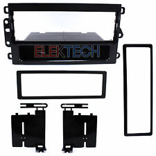 Radio Replacement Dash Mounting Install Kit 1-DIN w/Pocket for Chevy Cavalier