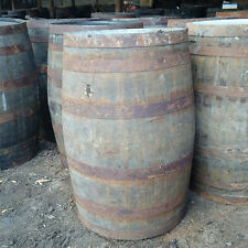 Reclaimed 200L Rustic Solid Oak Whisky Barrels | Cask | Keg | Storage