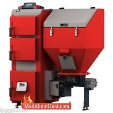 DPBi 15kw Wood Pellet Boiler with Self Ignition GSM can burn other solid fuel
