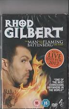 RHOD GILBERT LIVE THE MAN WITH THE FLAMING BATTENBERG TATTOO DVD SEALED
