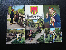 FRANCE - carte postale 1965 folklore d auvergne (cy68) french