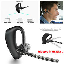 Wireless Bluetooth Stereo Handsfree Car Truck Driver Headset Headphone with Mic