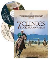 7 Clinics with Buck Brannaman Discs 3 & 4: Lessons on Horseback - New Sealed DVD