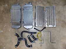 RADIATORS, Devol Guards, Hoses, Stock Oem, Left Right, KTM 520 400 EXC 520EXC 02