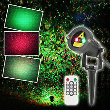 Laser Christmas Light Outdoor Waterproof Projector Landscape Tree Decoration