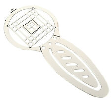 Charles Rennie Mackintosh Silver Plated Brass Etched Bookmark & Gift Bag