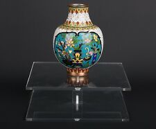 China 20. Jh. A Chinese Polychrome Cloisonne Enamel Vase - Vaso Cinese Chinoise