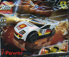 Sealed ! SHELL LEGO V-Power  30192 Shell F40 Ferrari White Racer