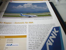 Airlines Archiv Japan Air Nippon Domestic für ANA 2S