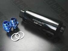 Billet Racing Fuel Filter 100 Micron Pump Stainless Element AN 6 AN 8 Bosch 044
