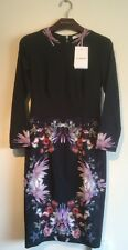 GIVENCHY FLORAL PRINT STRETCH CREPE DRESS EU 38 UK 8 RRP £1420