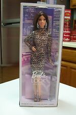 2014 The Barbie Look City Shine Brunette Black/Silver Lace Dress NRFB