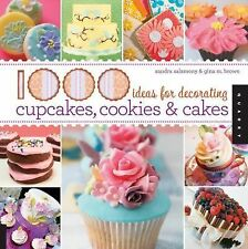 1,000 Ideas for Decorating Cupcakes, Cookies & Cakes, Salamony, Sandra, Brown, G