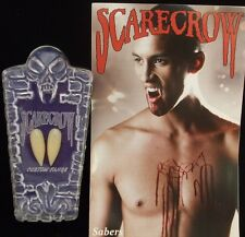 Halloween Fancy Dress Deluxe Sabre Vampire Dracula Tooth Caps Fangs by Scarecrow