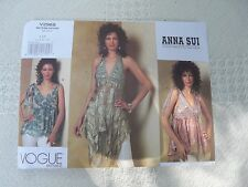 Vogue American Designer 2968 Anna Sui hippy top Sewing Pattern size 4-6- 8-10