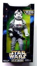 """12"""" AT-AT Driver + Imperial Blaster Action Figure Star Wars ESB New from 1997 ."""