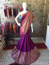 MakeMyFashion cotton Printed saree with unstitched blouse