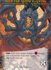 SPIDER-QUEEN Upper Deck Marvel Legendary MASTERMIND TACTIC WEB SKYSCRAPERS