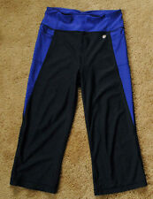 "ATHLETICA black purple pants size XS inseam 18"" Object d'Art"