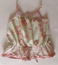 2-3 YEARS girls childrens clothes - petit patapon floral style strappy cami top