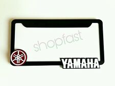 YAMAHA with LOGO FZ16 FZS R15 R3 R6  number plate (shiny touch) 3D reflective -R