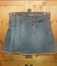 womans Tommy Hilfiger denim skirt size M.  W 32 inches. UK size 12