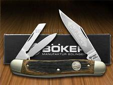 BOKER TREE BRAND Beer Barrel Wood Whittler Pocket Knife