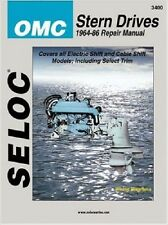 1964-1986 OMC Outdrive Ford GM L4-V8 Marine Boat Repair Manual 02 03 04 05 3400