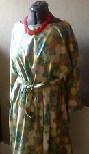 1950s Vintage Style Liberty Floral Print Cotton Tea Dress Size 26/28