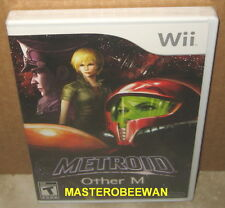 Metroid: Other M New Sealed (Nintendo Wii, 2010) & Wii U
