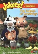 ●● JAKERS : The Adventures of Piggley Winks ●● (DVD, 2004) ABC For Kids - HTF!